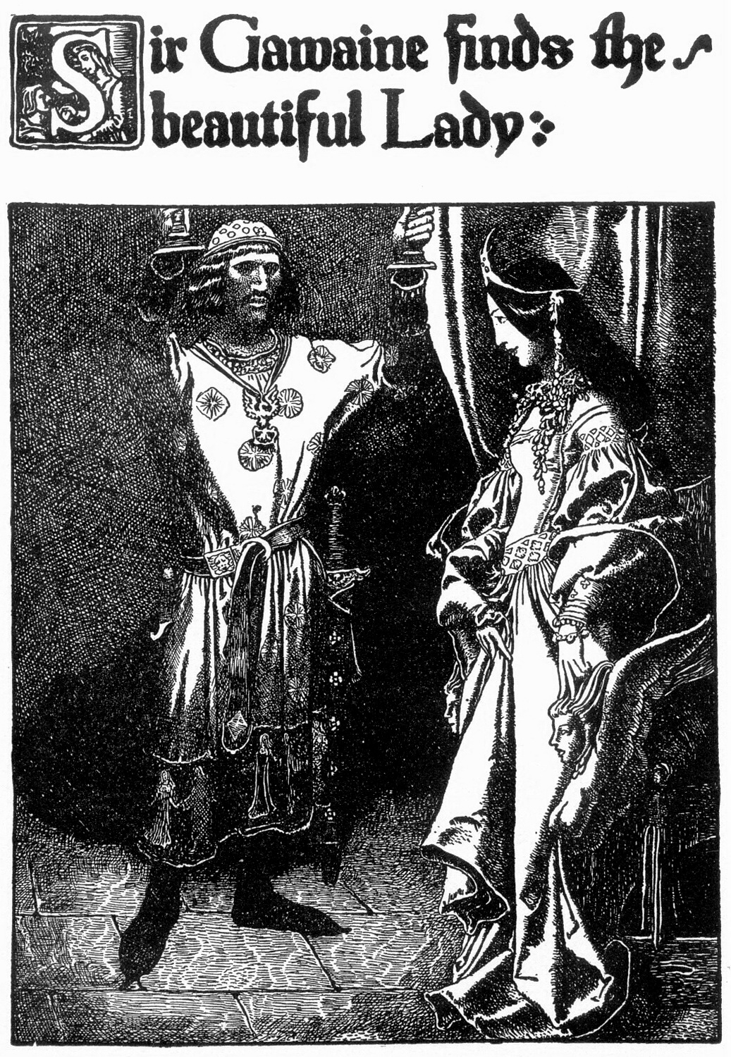theme of the story sir gawain and the loathly lady The loathly lady she who is  for in his own story there is also a loathly lady,  in the wedding of sir gawain and dame ragnelle (and its varient, .