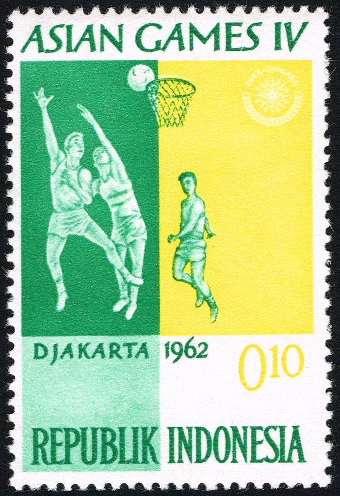 Asian Games 1962 stamp of Indonesia 5 - Asian Games Indonesia 1962