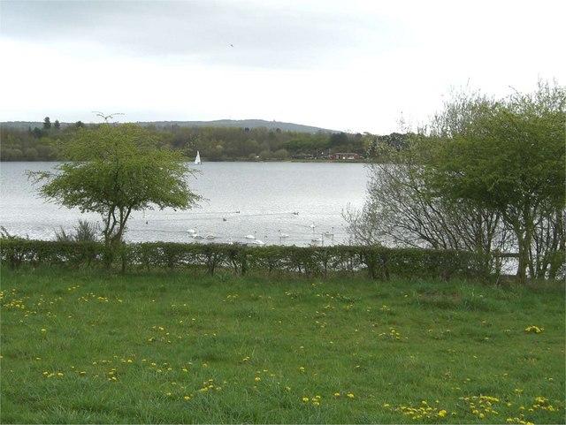 Astbury Lake - geograph.org.uk - 158426