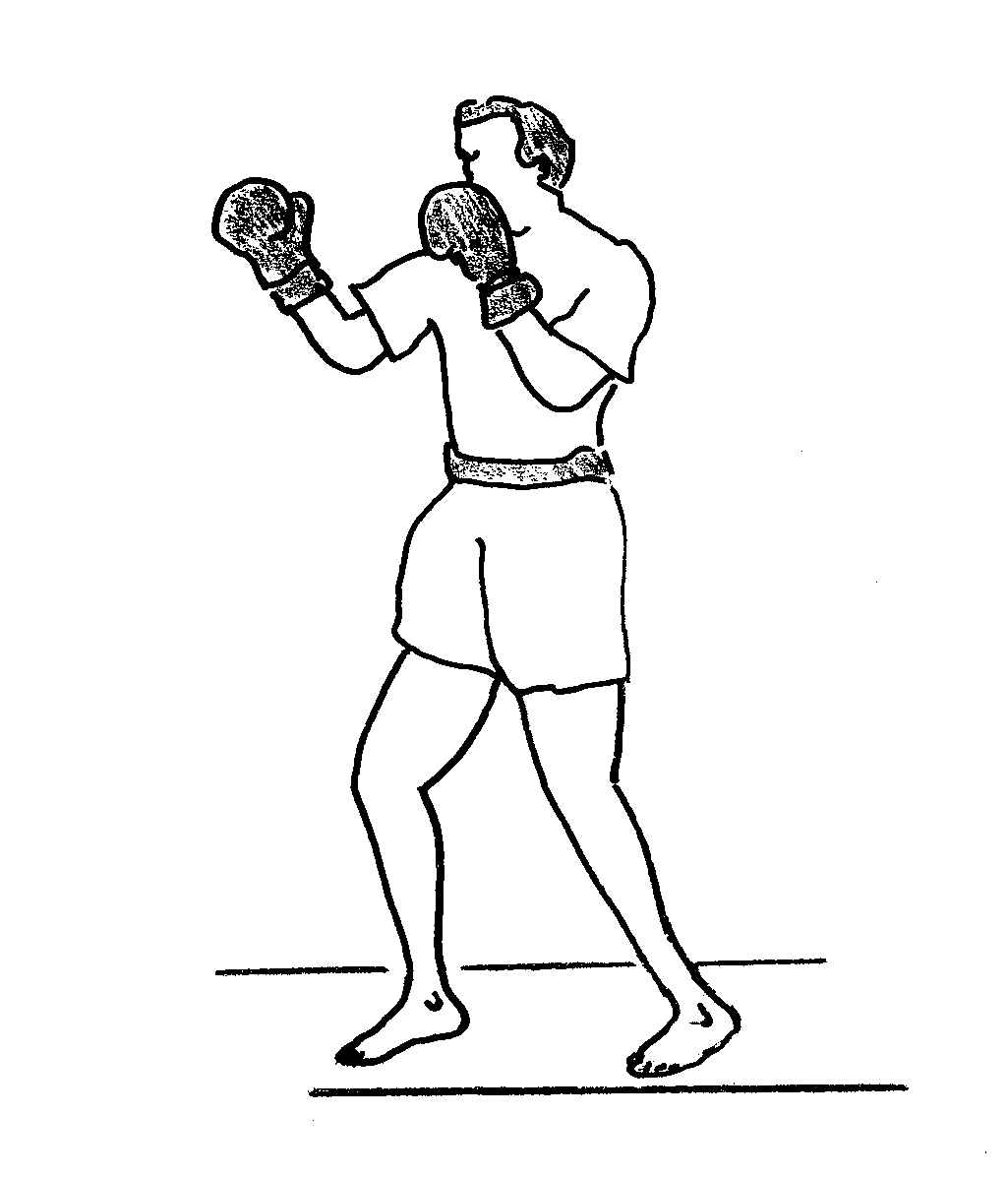 how to draw a boxer person
