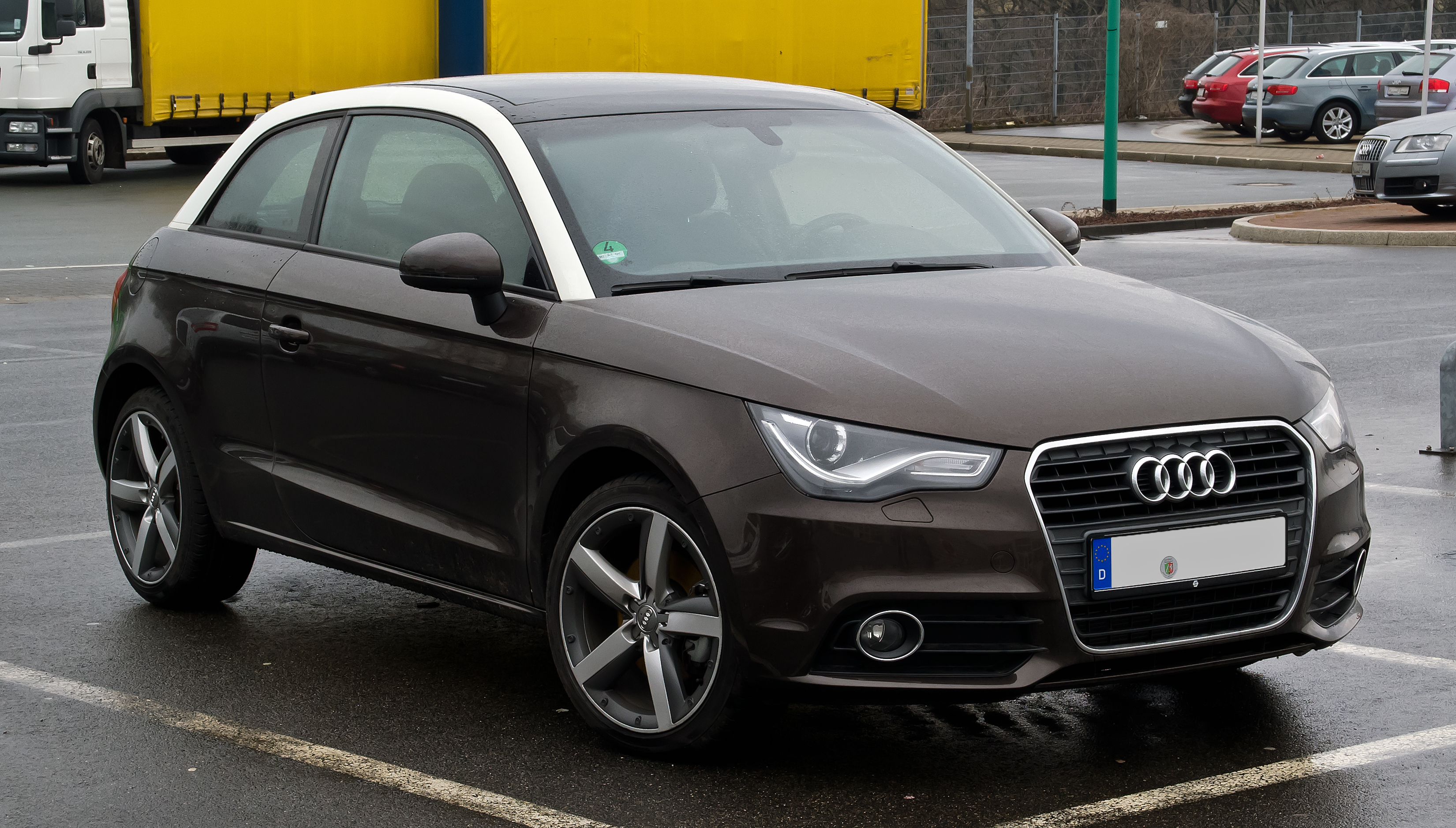 File Audi A1 1 4 Tfsi Ambition Frontansicht 26 Februar