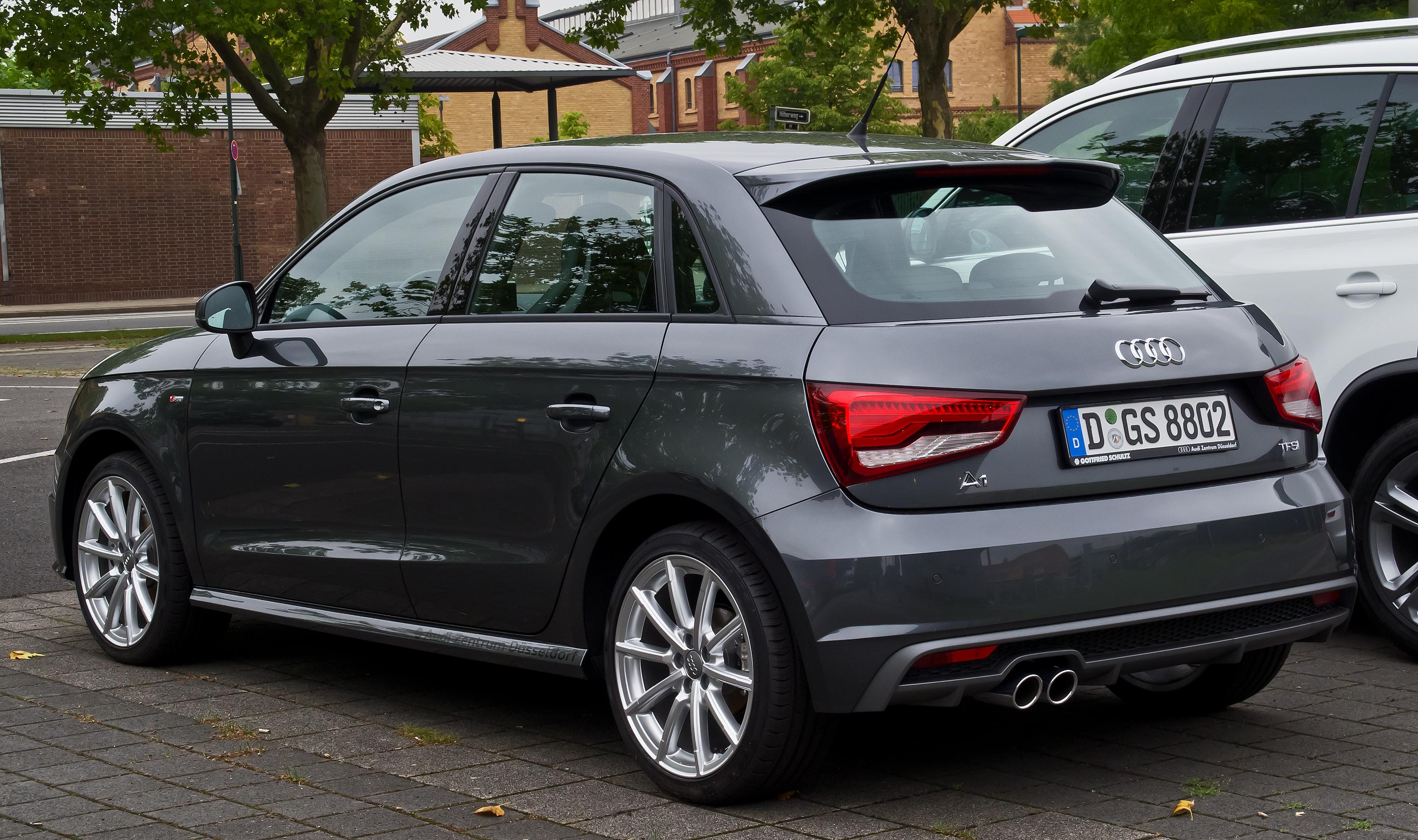 Datei Audi A1 Sportback 1 4 Tfsi S Line Facelift