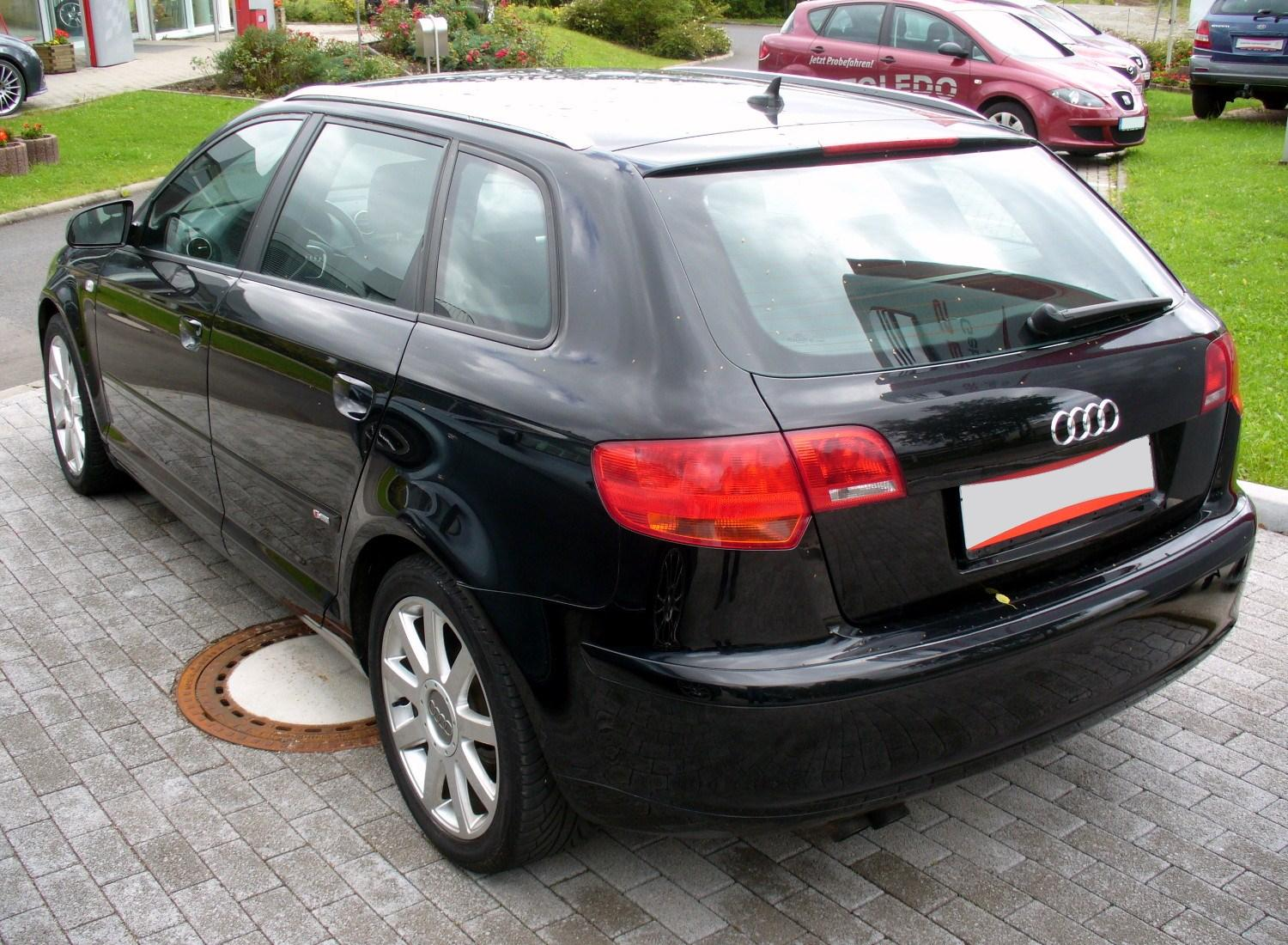 datoteka audi a3 sportback 2 0 tdi s line heck jpg. Black Bedroom Furniture Sets. Home Design Ideas