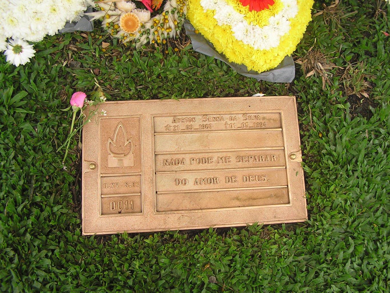 Grab von Ayrton Senna