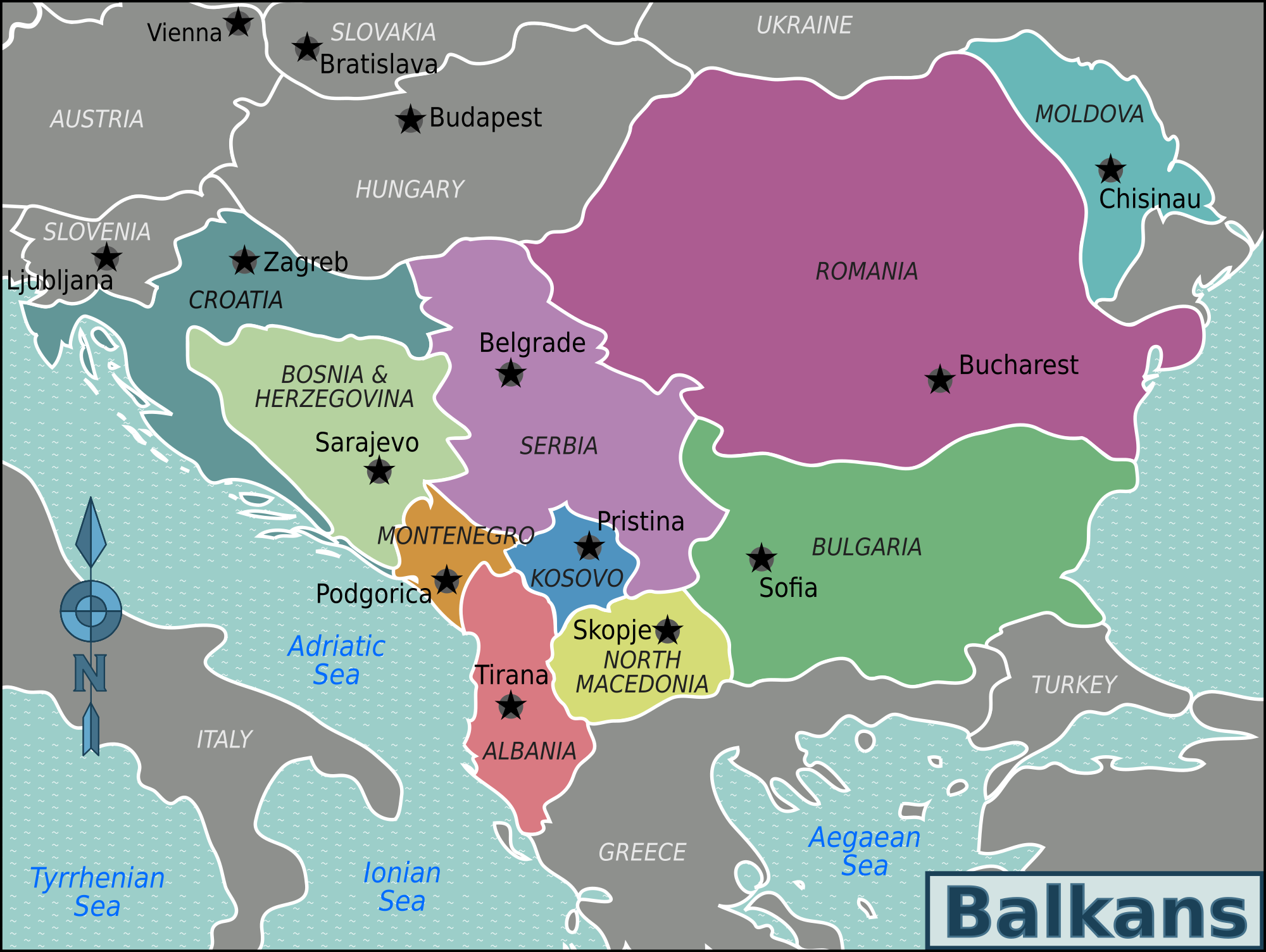 File balkans regions for Warm cheap places to live