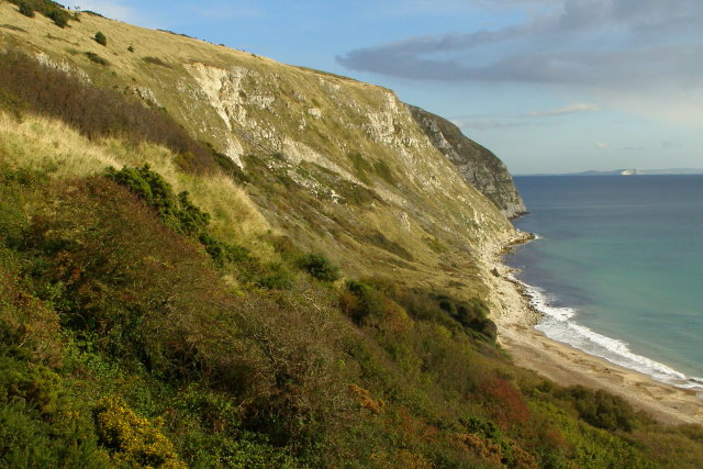 Ballard Cliff and Punfield Cove - geograph.org.uk - 1025791