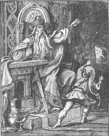 An image of Frederick Barbarossa,  part of the King in the Mountain trope in folklore. But what is the trope and why does it crop up in so many legends? Find out here.