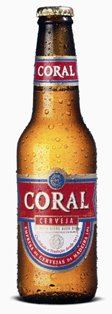Coral Beer, produced since 1872 in the Island's main brewery, has achieved several Monde Selection medals CORAL.jpg