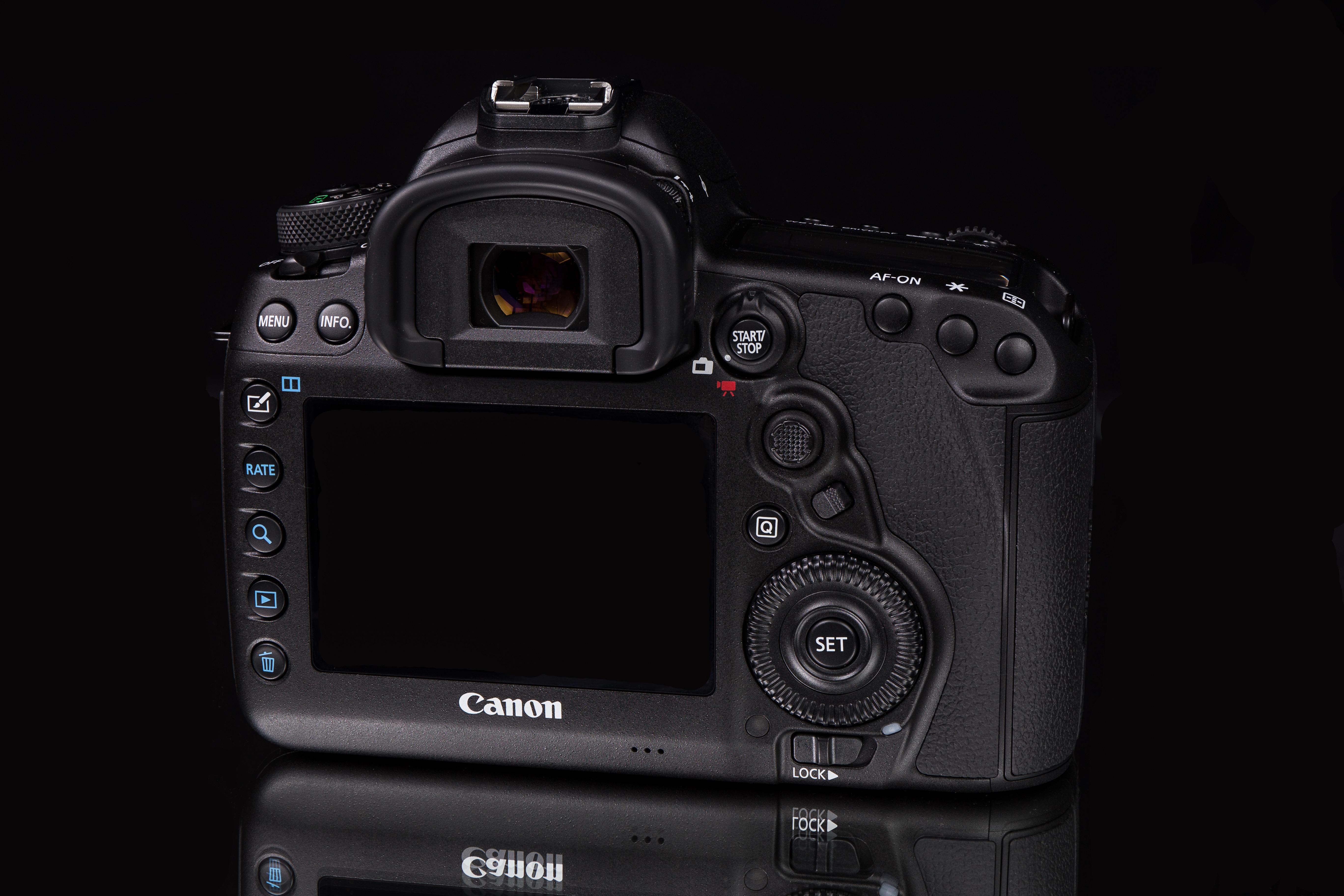 Filecanon Eos 5d Mark Iv Rear 1803241121 Ako Wikimedia Canon Body Only Camera Dslr 4