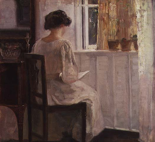 File:Carl Holsoe reading in an interior.jpg