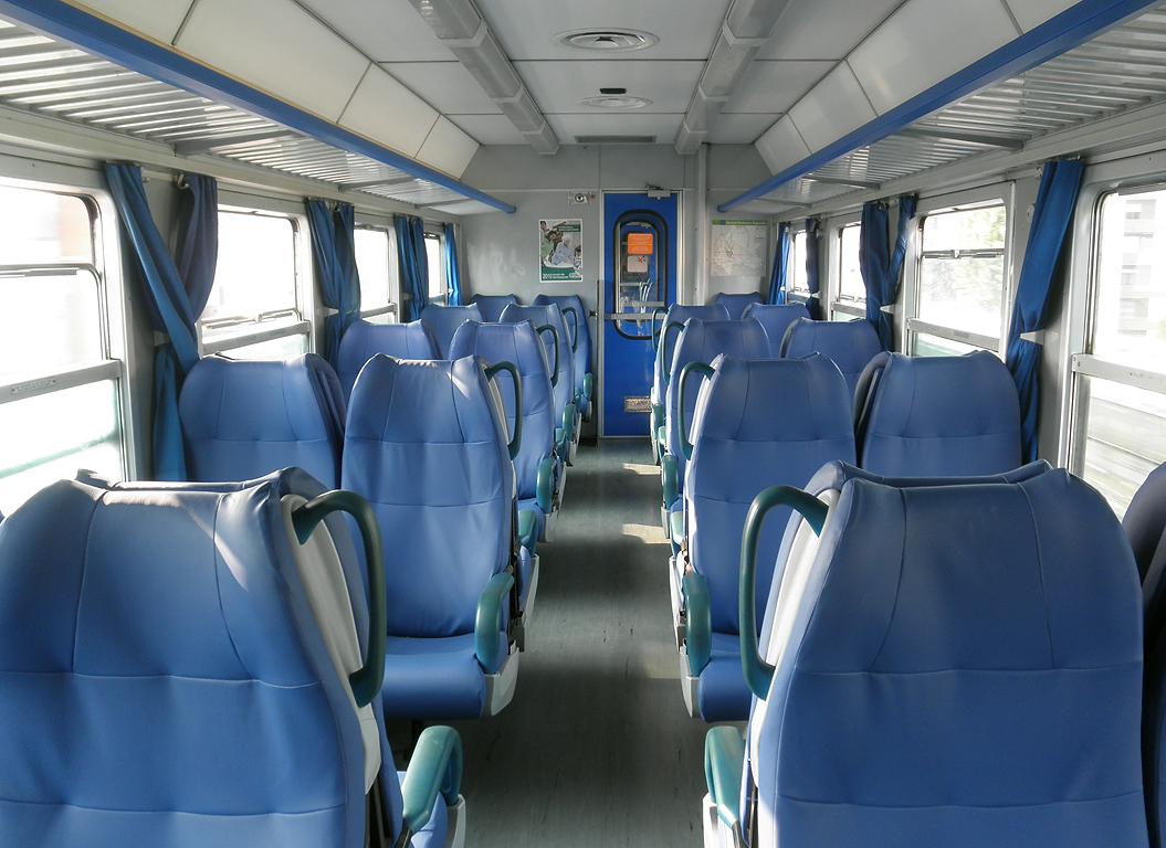 Interni per treni la metro di Madrid