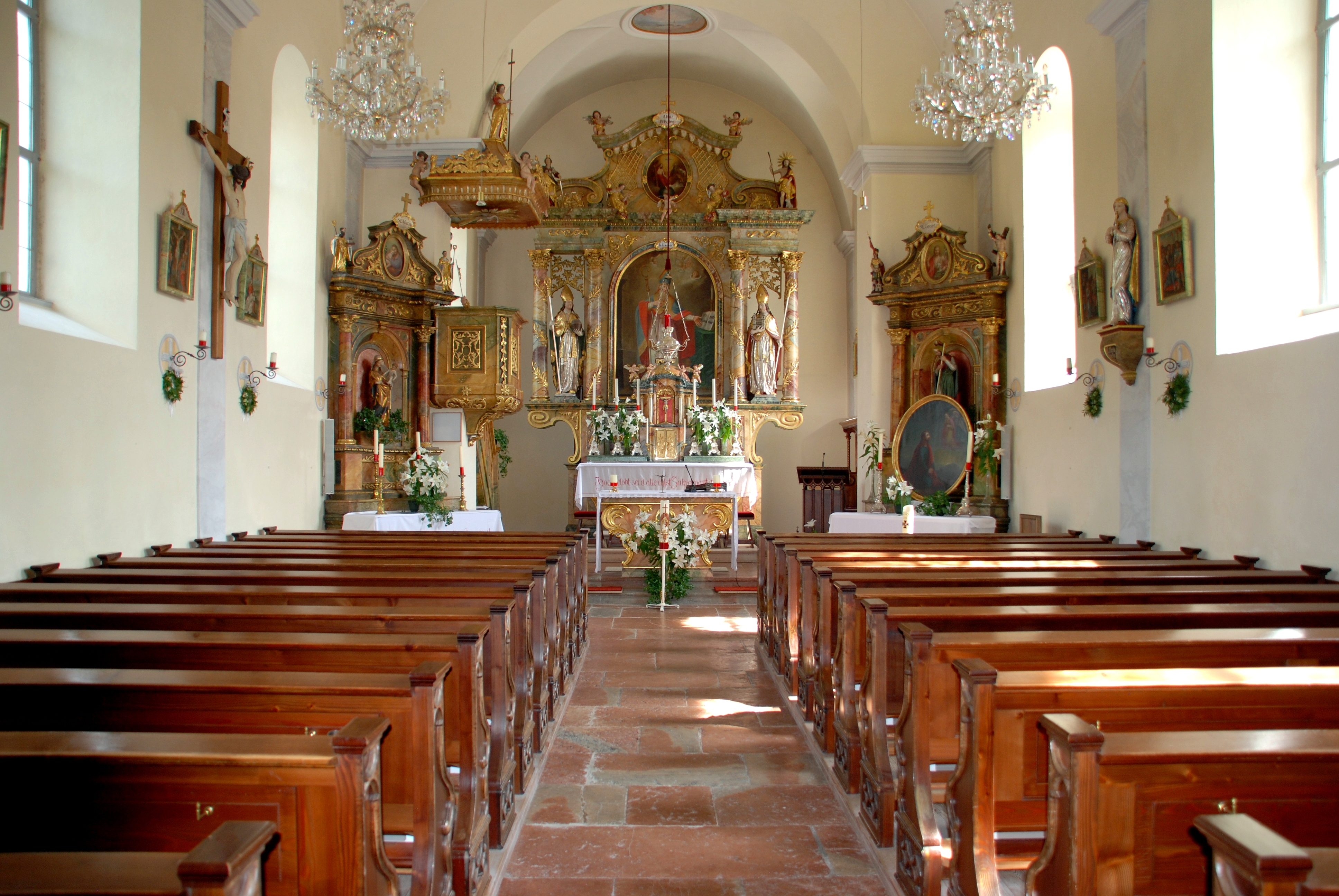 Modern Interior Design Ideas File Catholic Church Interior Fuschl Am See Dfdb Jpg