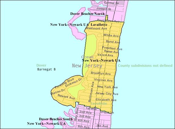 FileCensus Bureau Map Of Lavallette New Jerseypng
