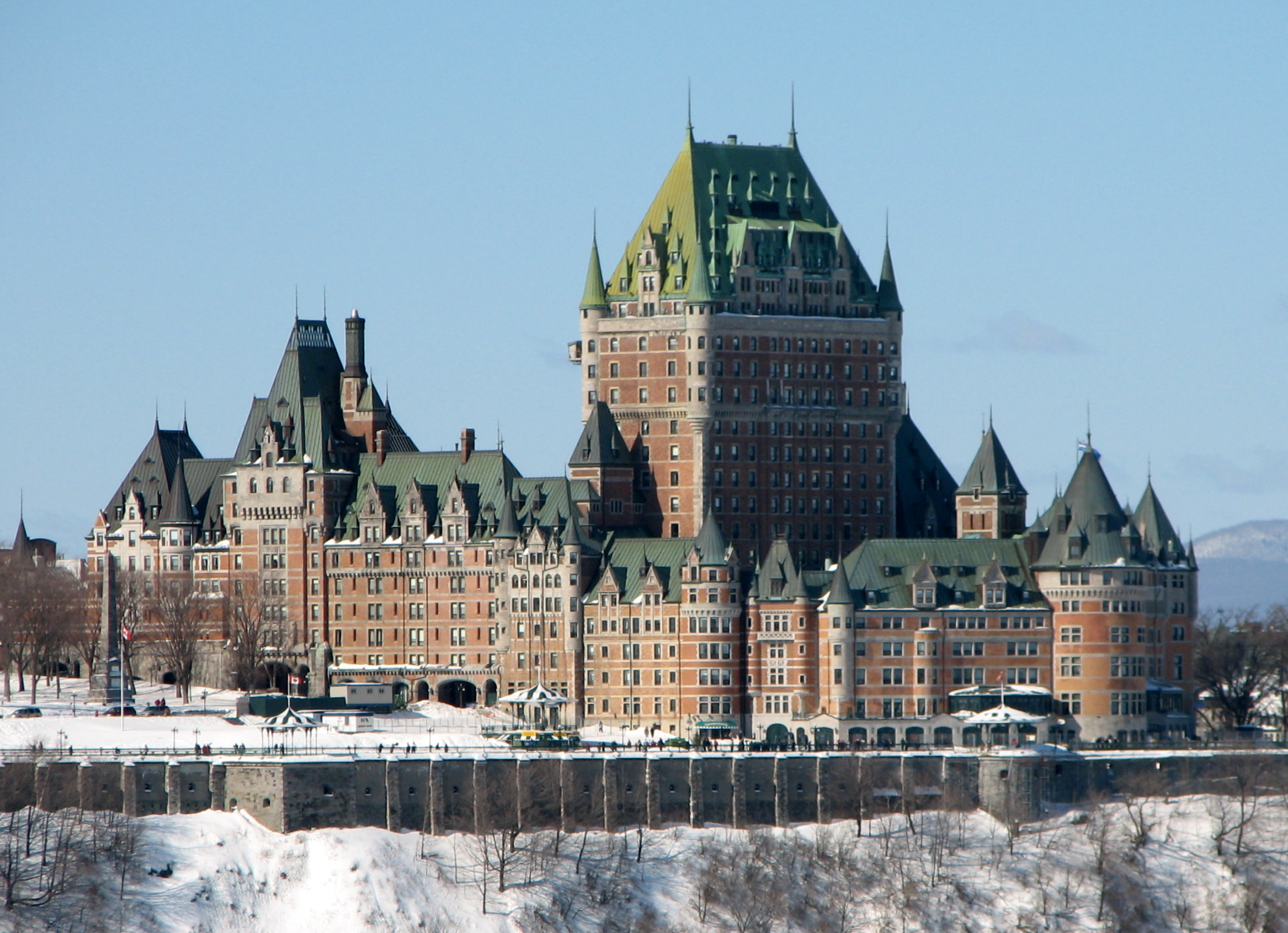 My life in retirement q is for quebec city for Chambre chateau frontenac