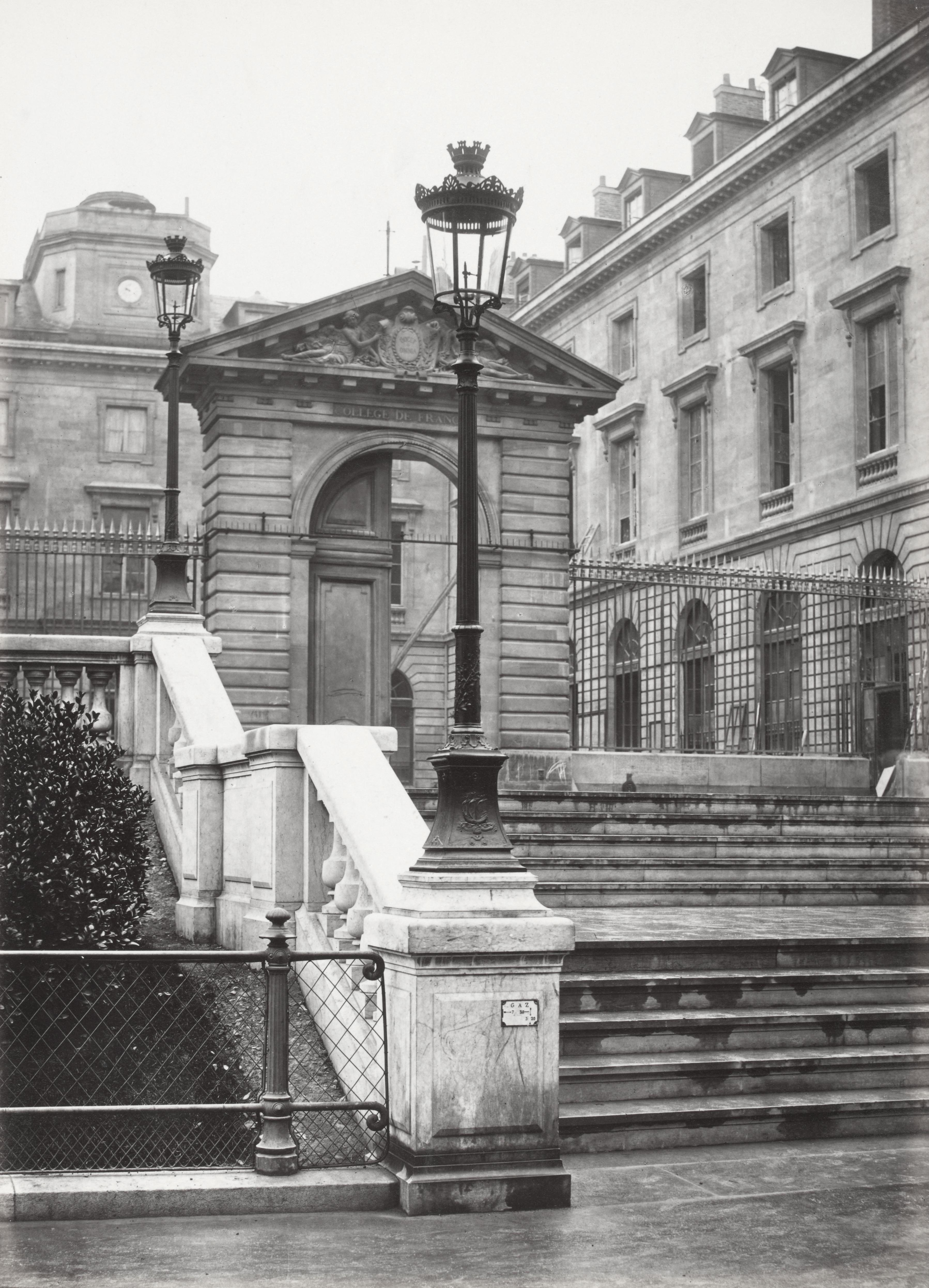 File charles marville square du coll ge de france 1878 for College charles lemoyne piscine