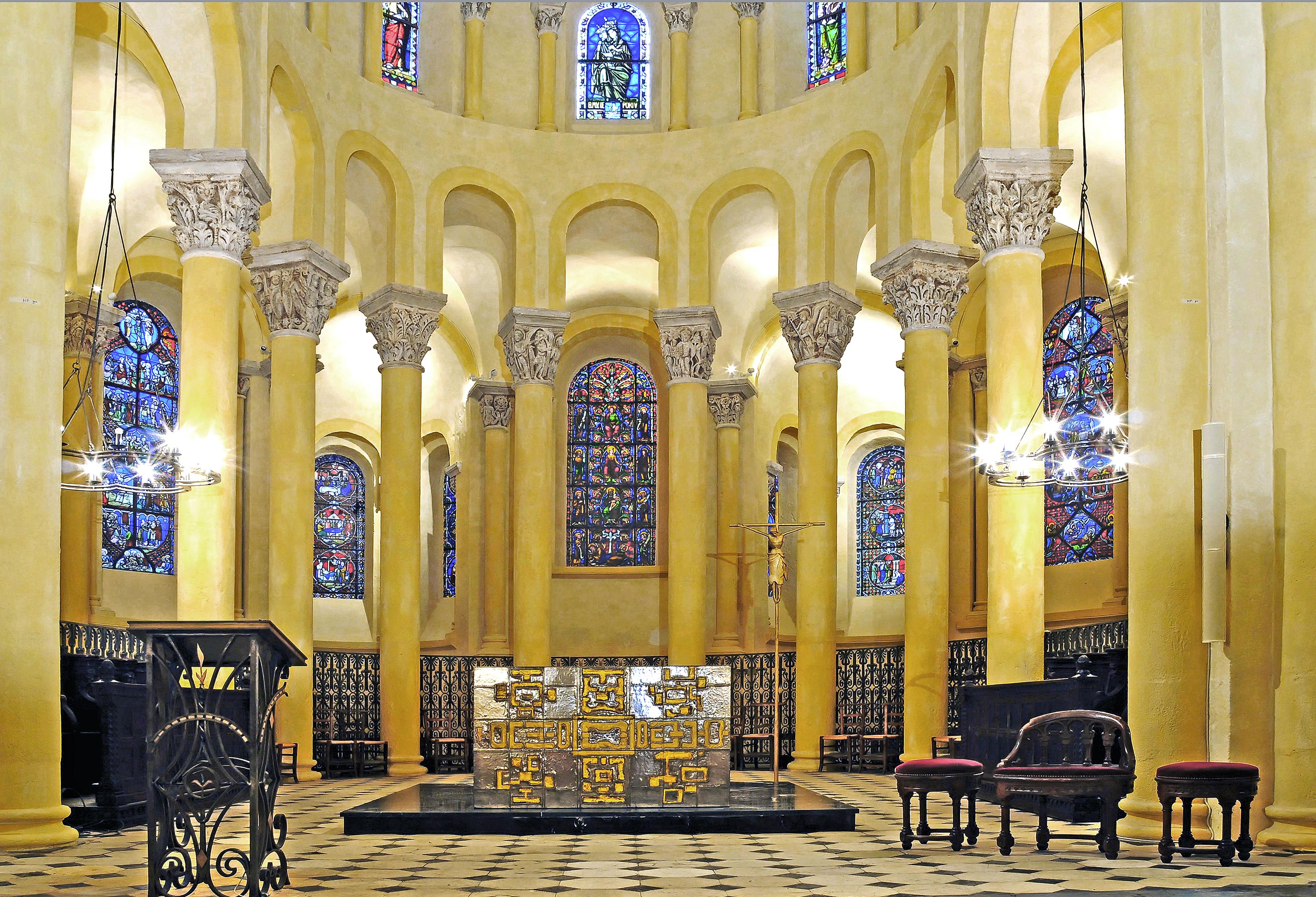file choeur de la basilique notre dame du port clermont wikimedia commons. Black Bedroom Furniture Sets. Home Design Ideas