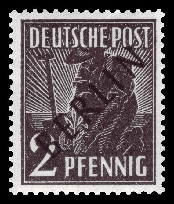 Dateidbpb 1948 1 Freimarke Schwarzaufdruckjpg Wikipedia