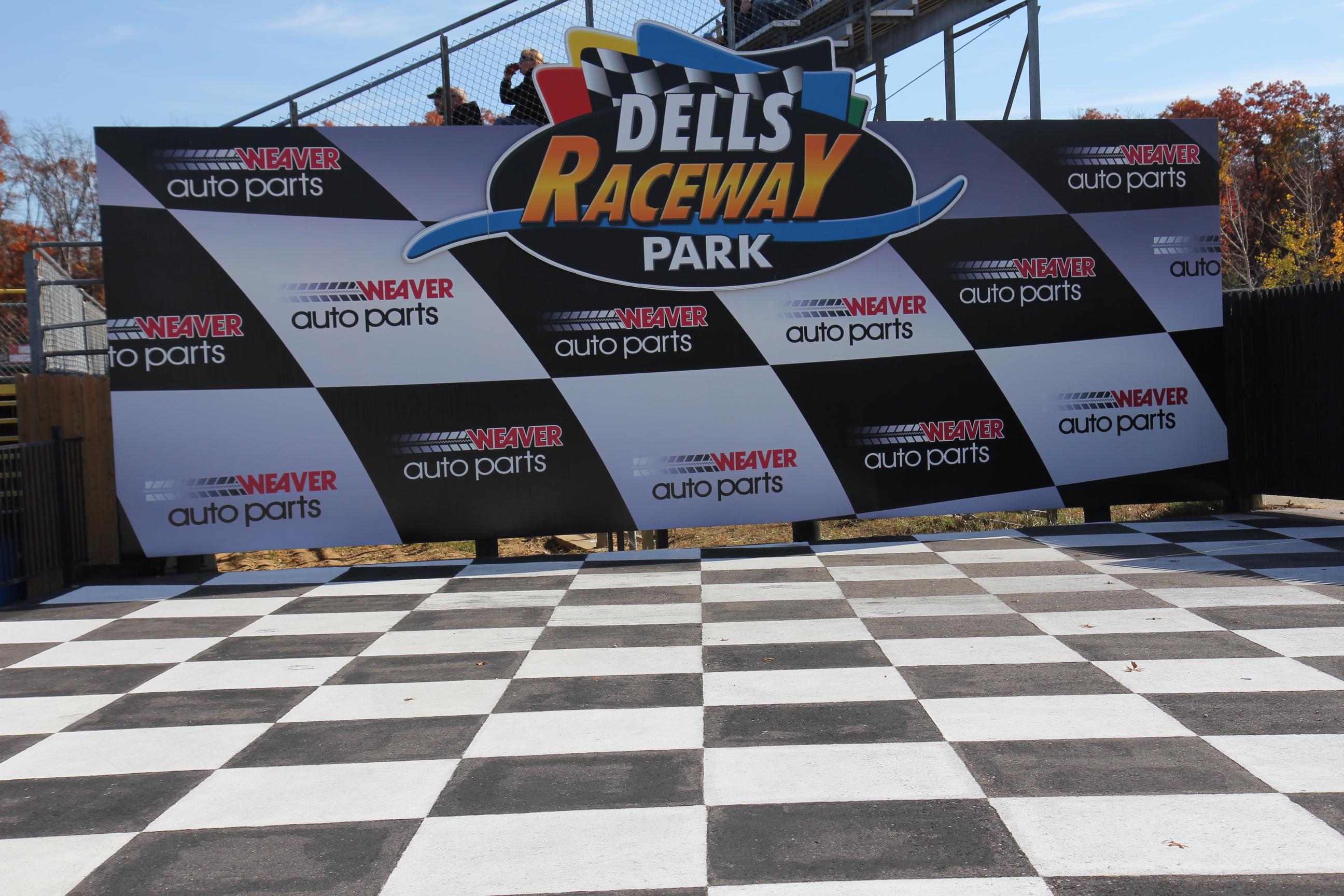File:Dells Raceway Park Victory Lane.jpg - Wikimedia Commons