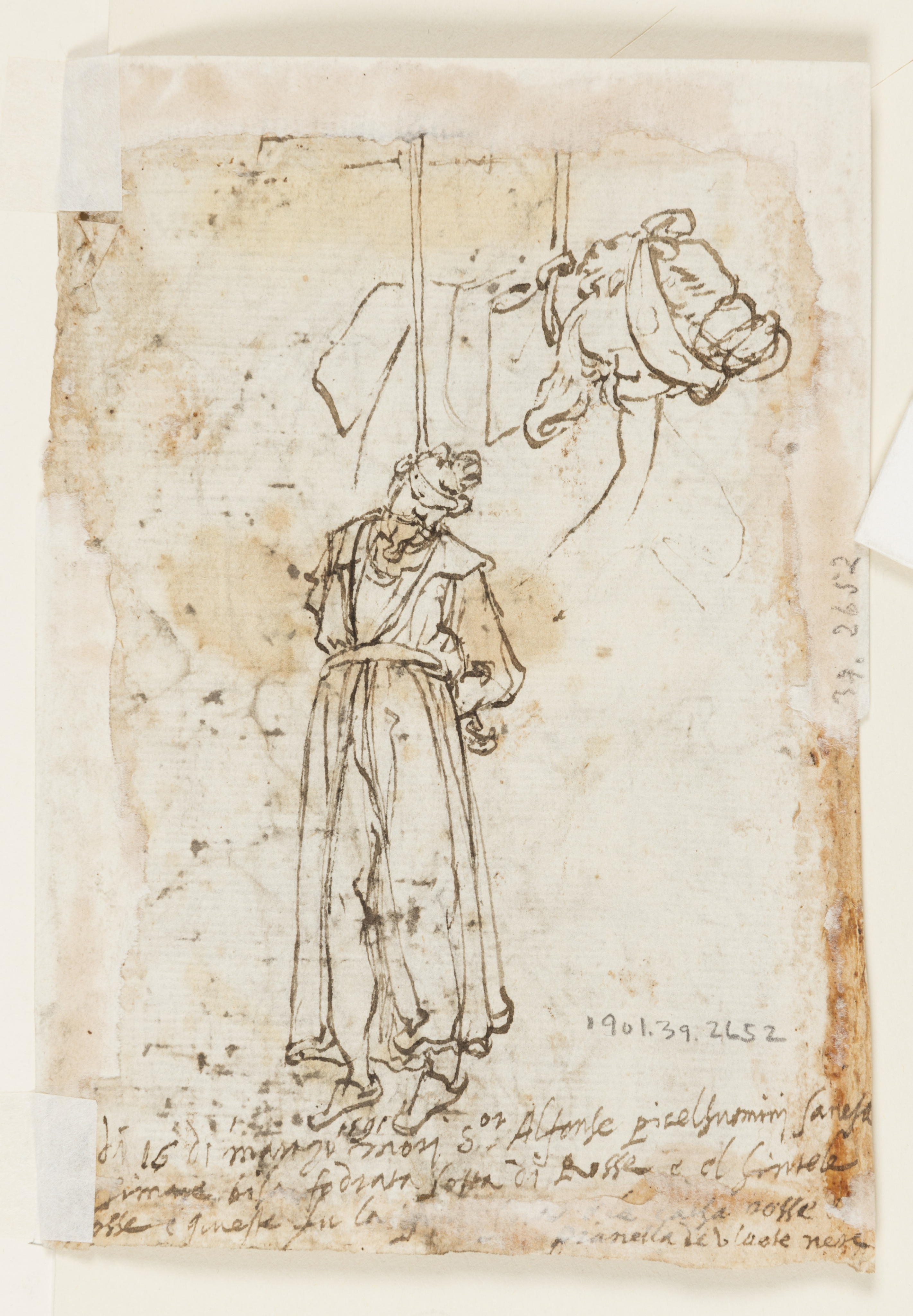 FileDrawing Page Of A Sketchbook Beheading Of St John The