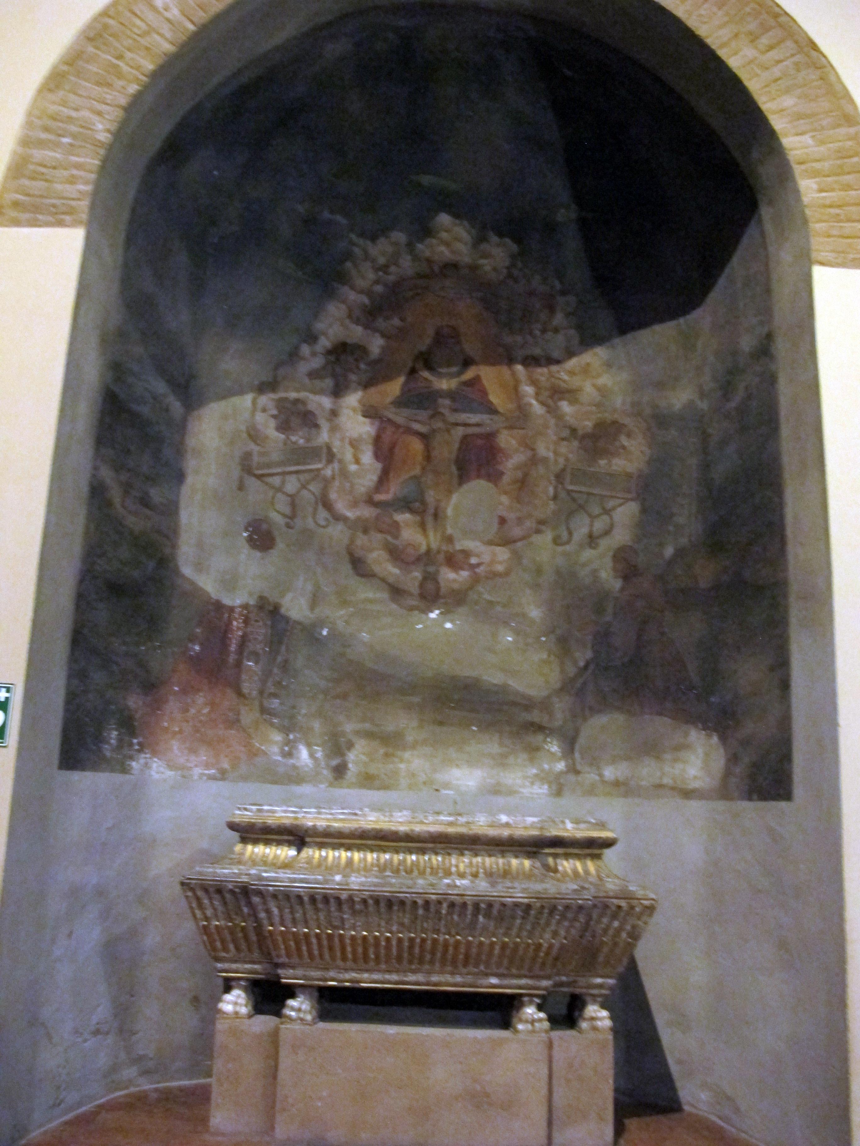 File Duomo Di Cesena Interno 03 Affresco E Urna Di S