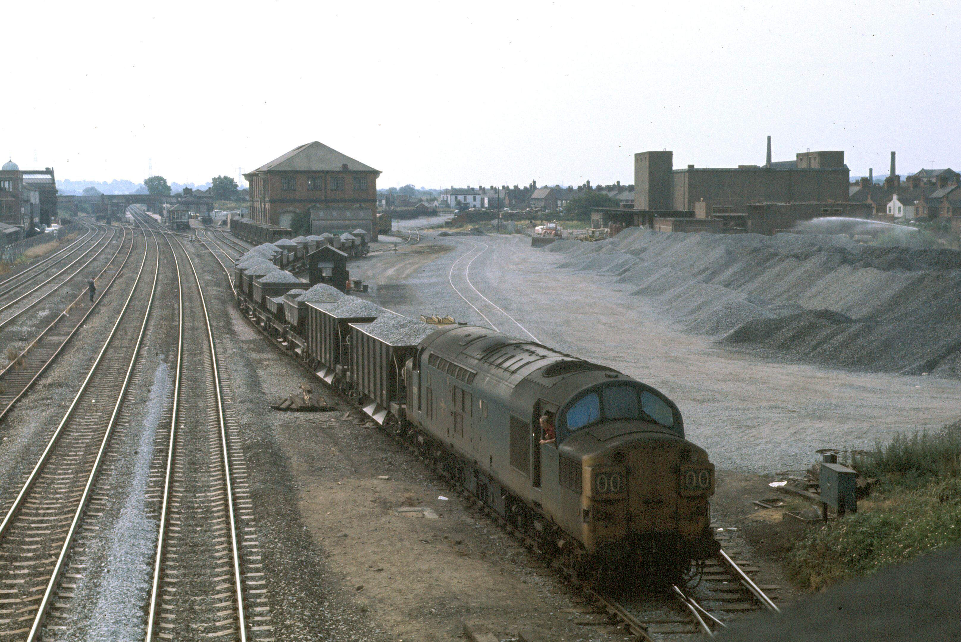 Midland Railway. Loughborough Midland Railway Station Photo 3