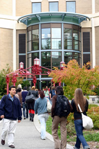 Snoqualmie Hall, a building shared by Edmonds Community College and Central Washington University, 2007