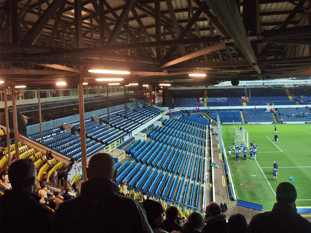 File Elland Road South Stand Jpg Wikimedia Commons