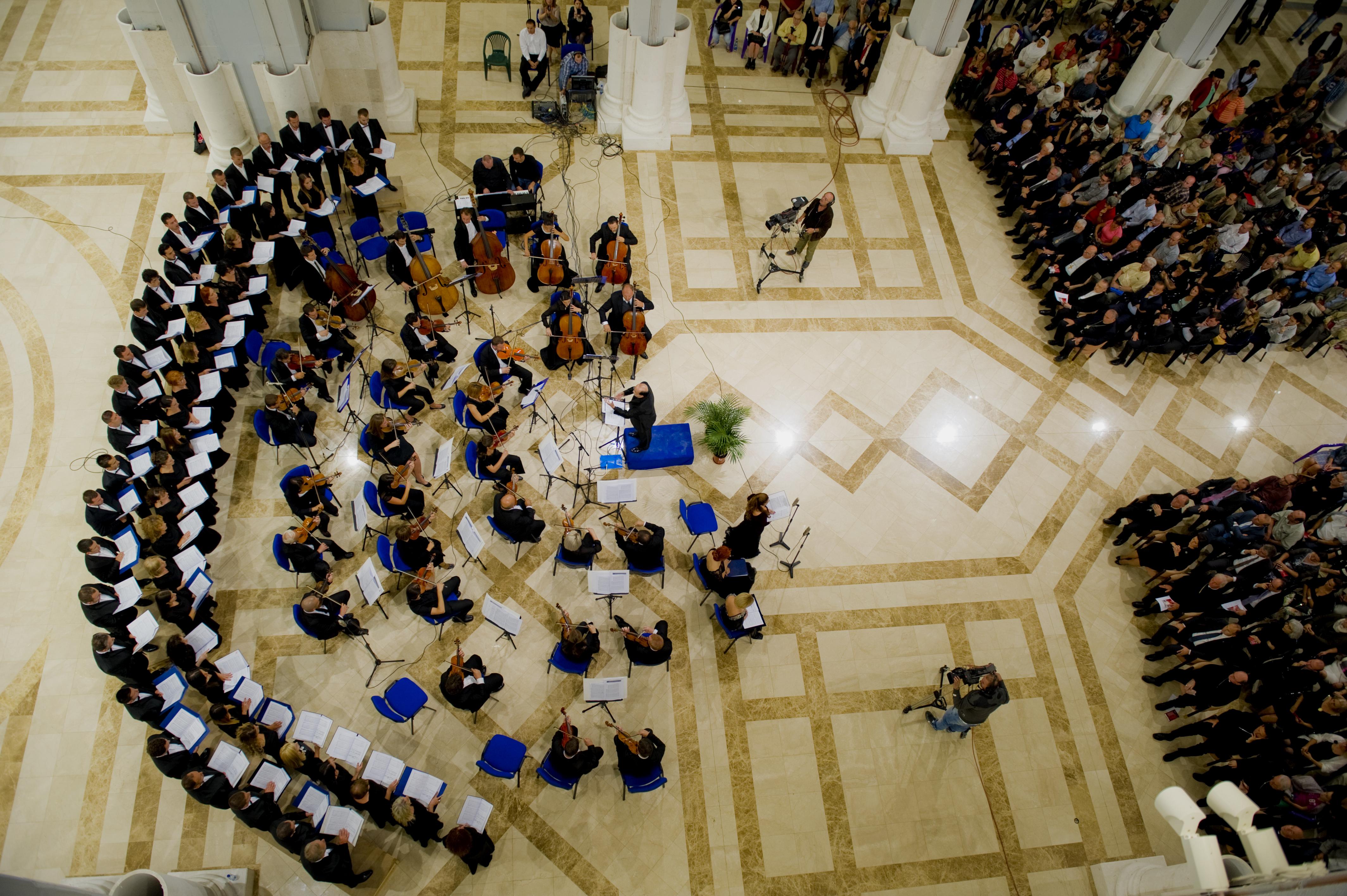 Die Philharmonie des Kosovo