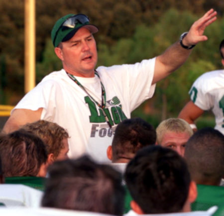 Football Coach Todd Dodge