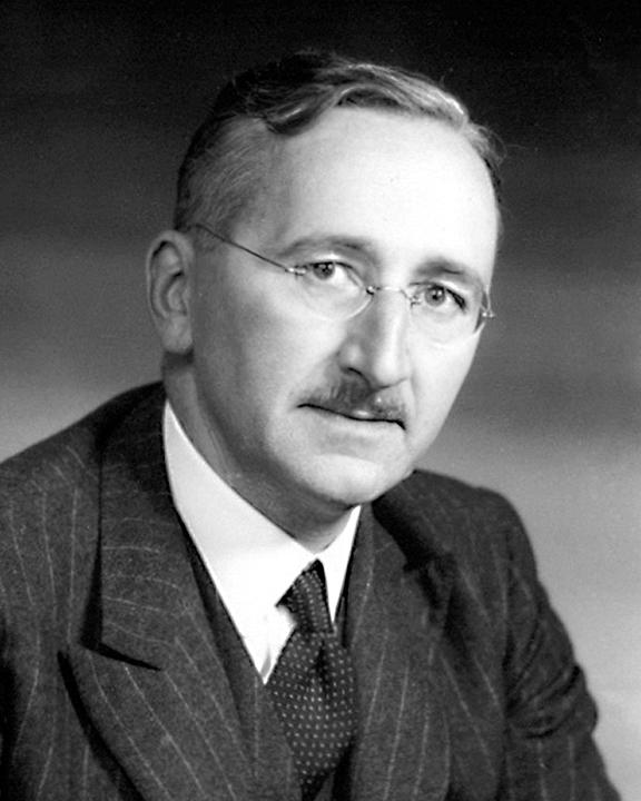 English: GFDL picture of F.A. Hayek to replace...