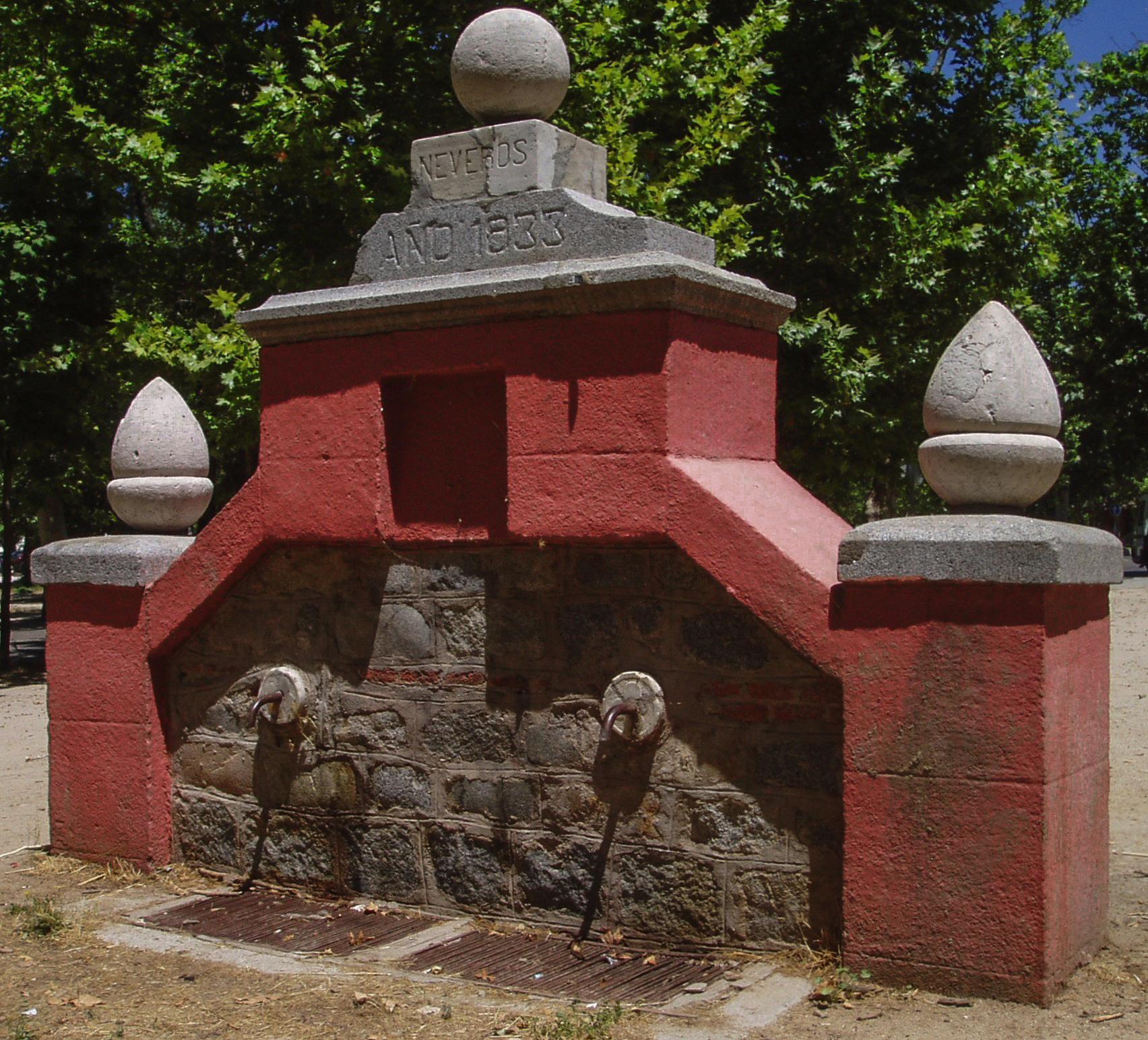 File fuente de neveros casa de campo madrid espa - Fuentes para casa ...