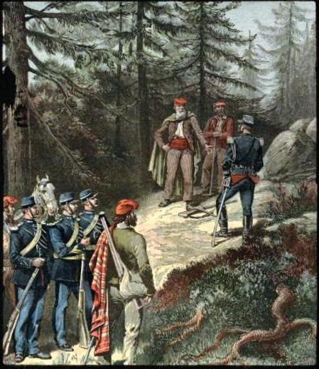Garibaldi in the Alps.