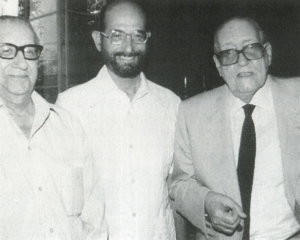 José Ardévol, Harold Gramatges, Alejo Carpentier.