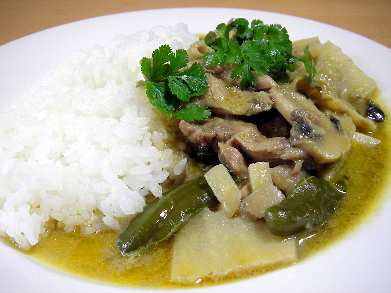Green Curry Recipe — Dishmaps