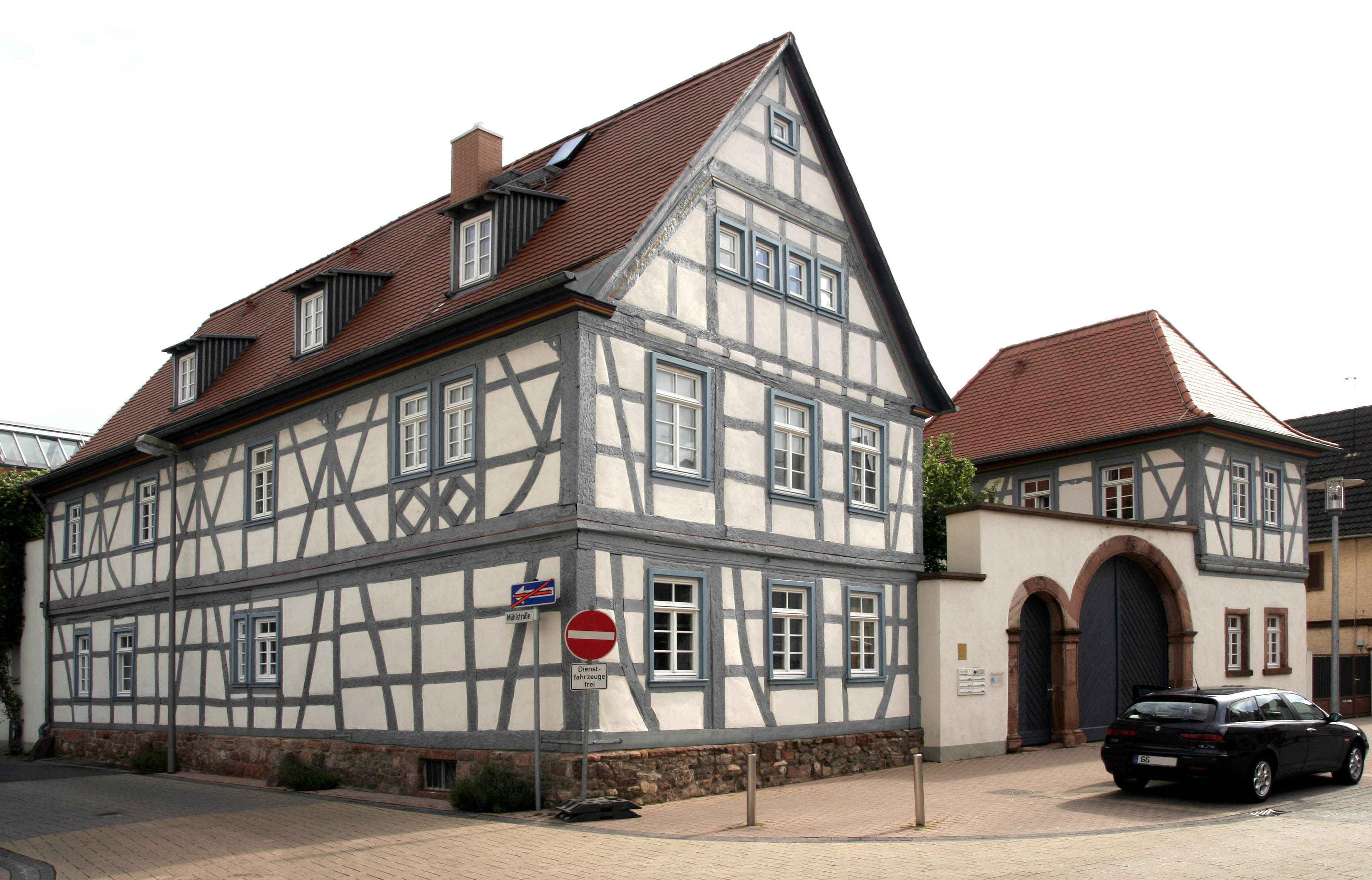 Gross-Gerau Germany  city photos gallery : Gross Gerau Fachwerk 04 Wikimedia Commons