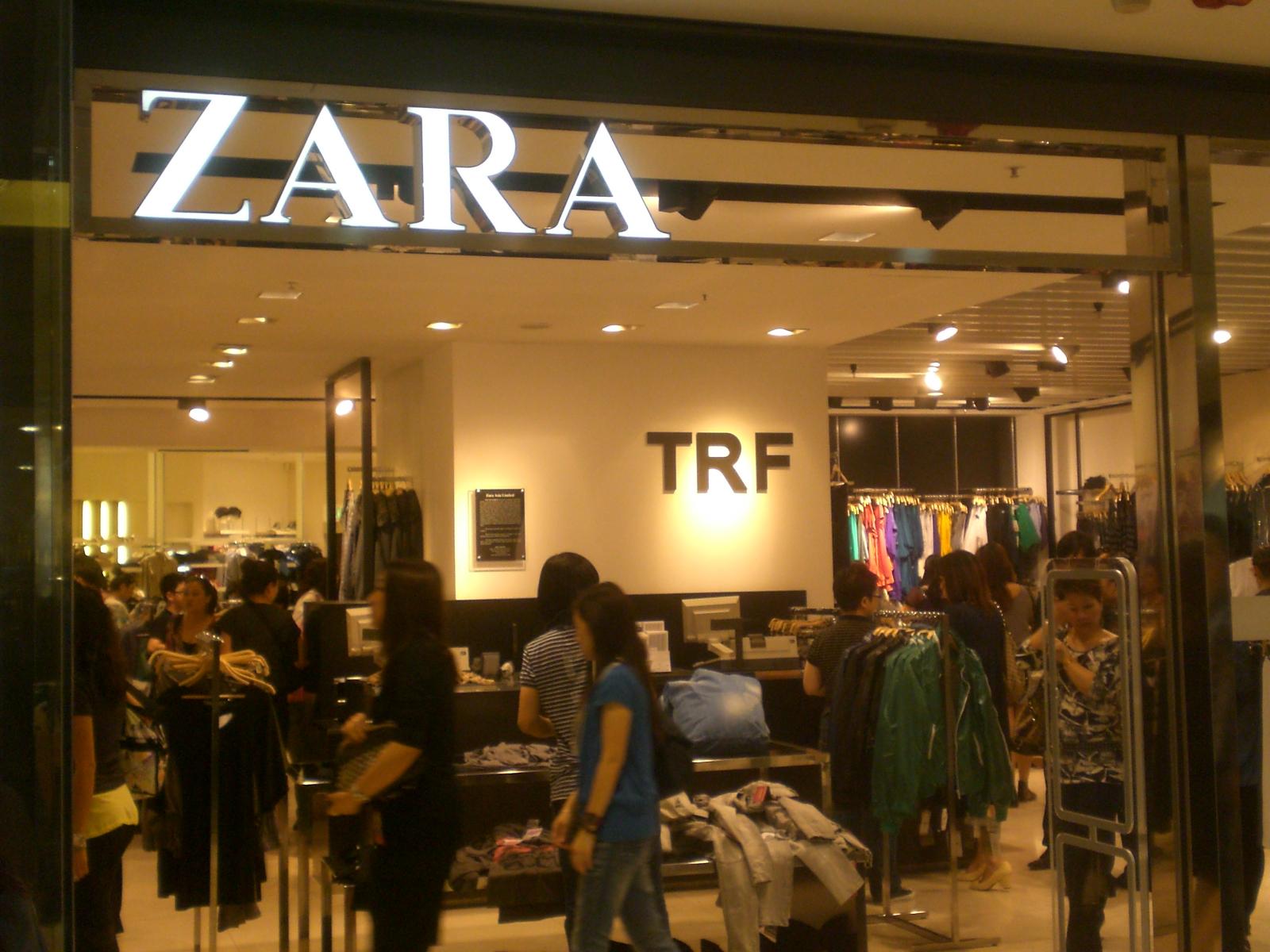 zara shop:
