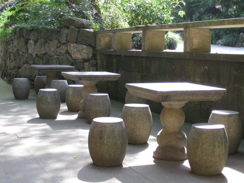 Awesome File:HZ 杭州 Hangzhou 永福寺 Yongfu Temple China Tourism 2012 Stone Furniture  Tables Chairs