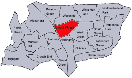 File:Haringey wards with Noel Park highlighted.jpg - Wikimedia Commons