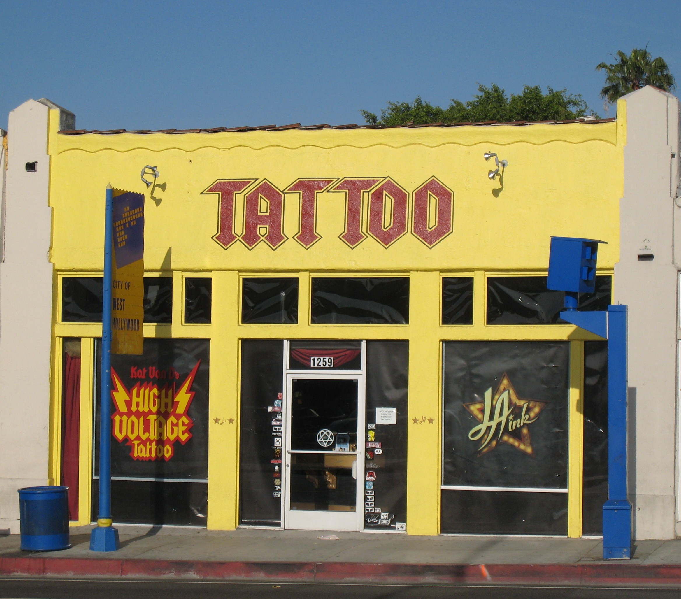 High voltage tattoo free tattoo pictures for Tattoo shops los angeles