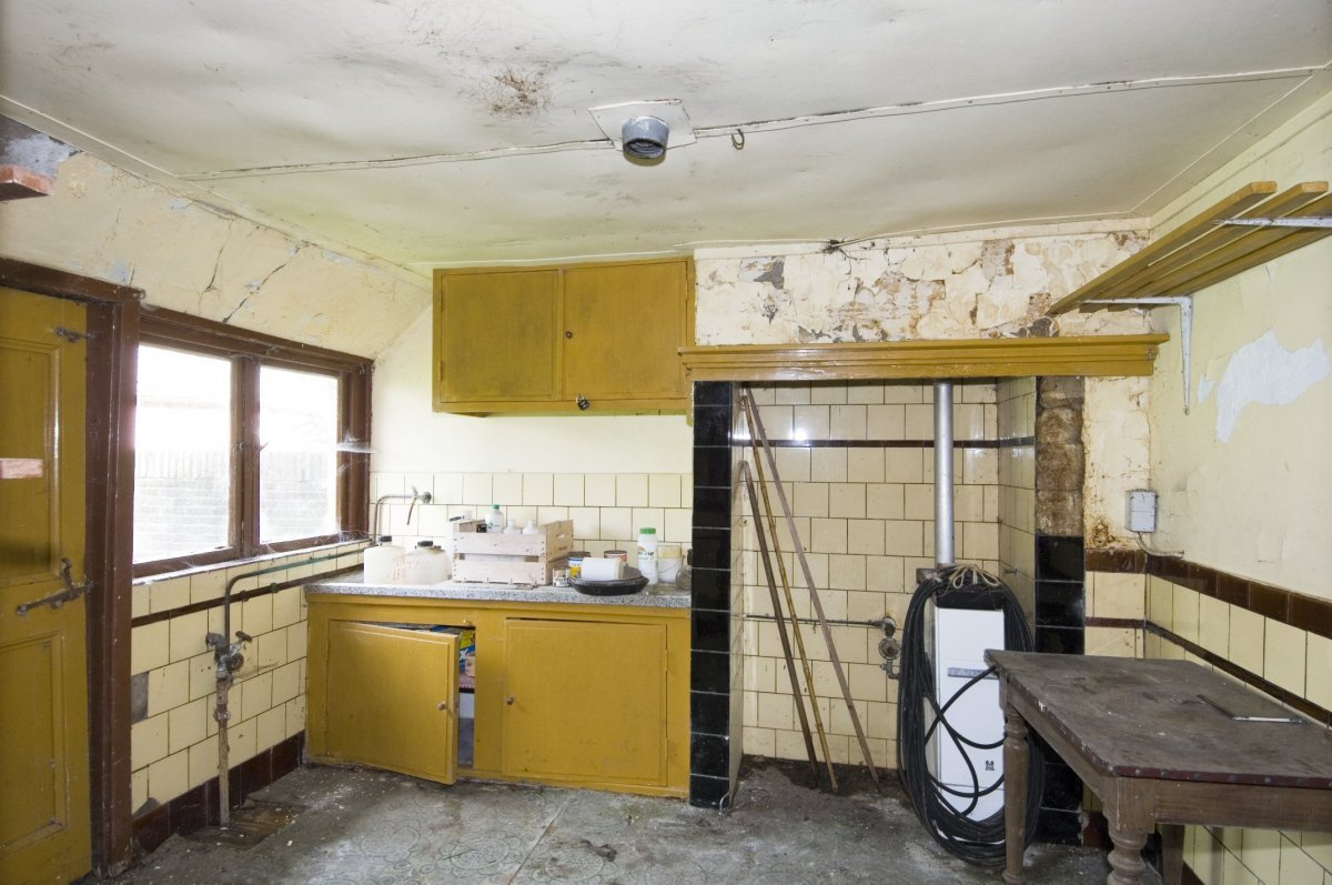 File interieur boerderij overzicht keuken geesteren for Boerderij interieur
