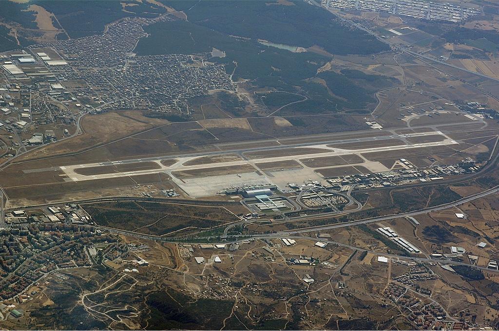 Izmir Airport Karakas Adnan Menderes Havalimani