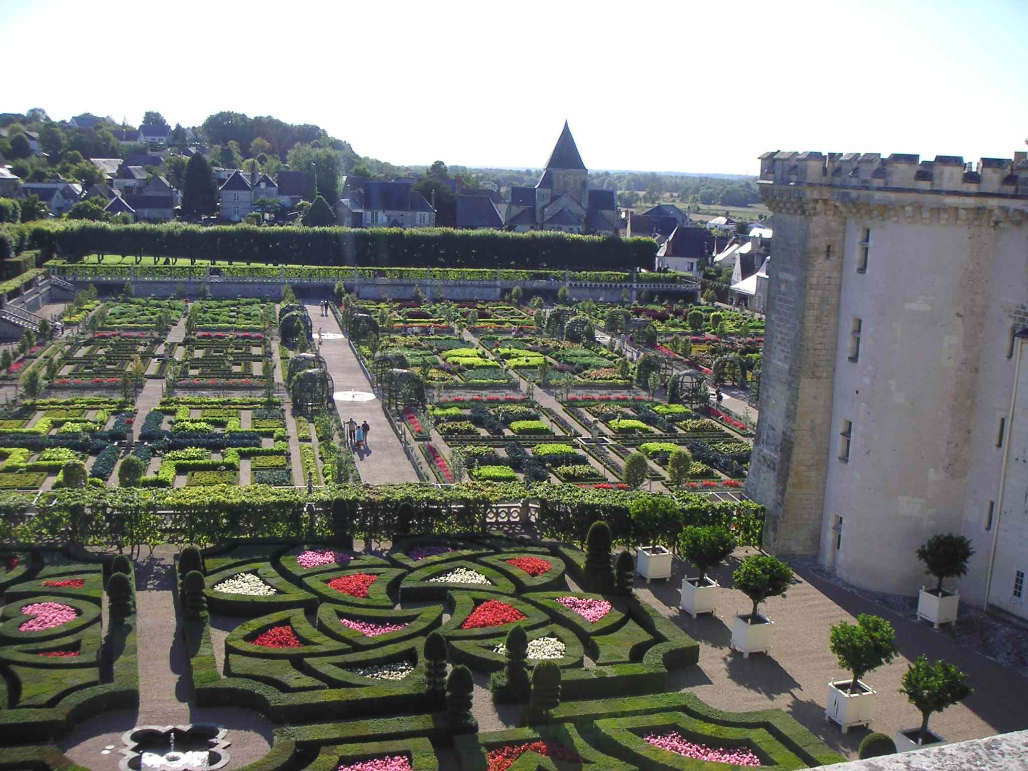 Loirechateau chateau de villandry for France jardin