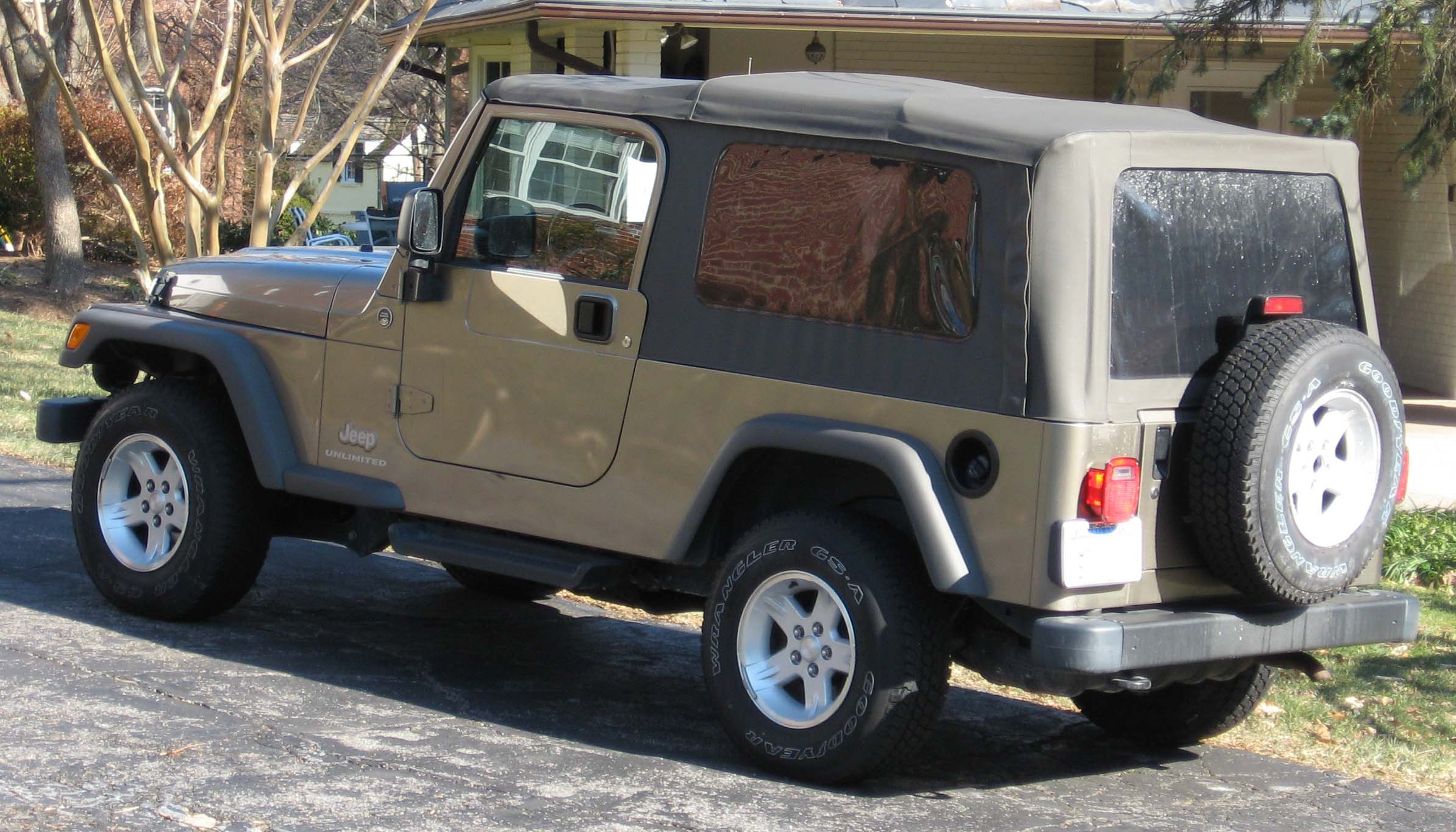 Soft Top Wrangler Car Wash