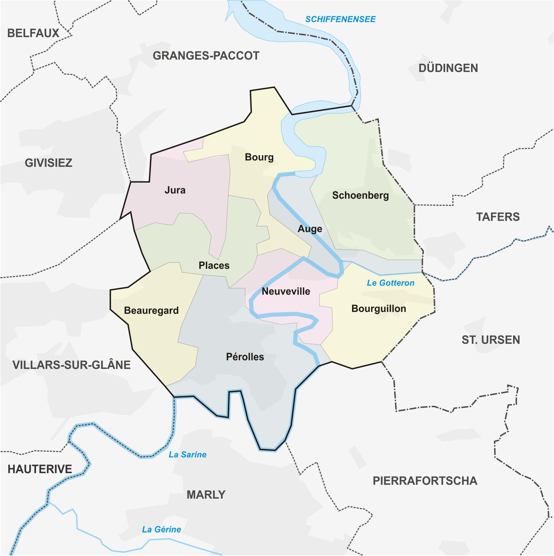 Freiburg Karte.File Karte Freiburg Quartiere Png Wikimedia Commons