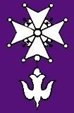 Cross symbol used by the Huguenots, French Pro...