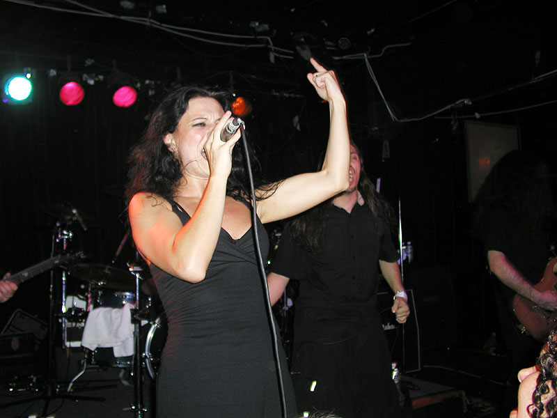 About cristina scabbia singer composer songwriter for Youtube la gabbia