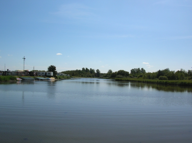 Lake used for canoeing - geograph.org.uk - 544084