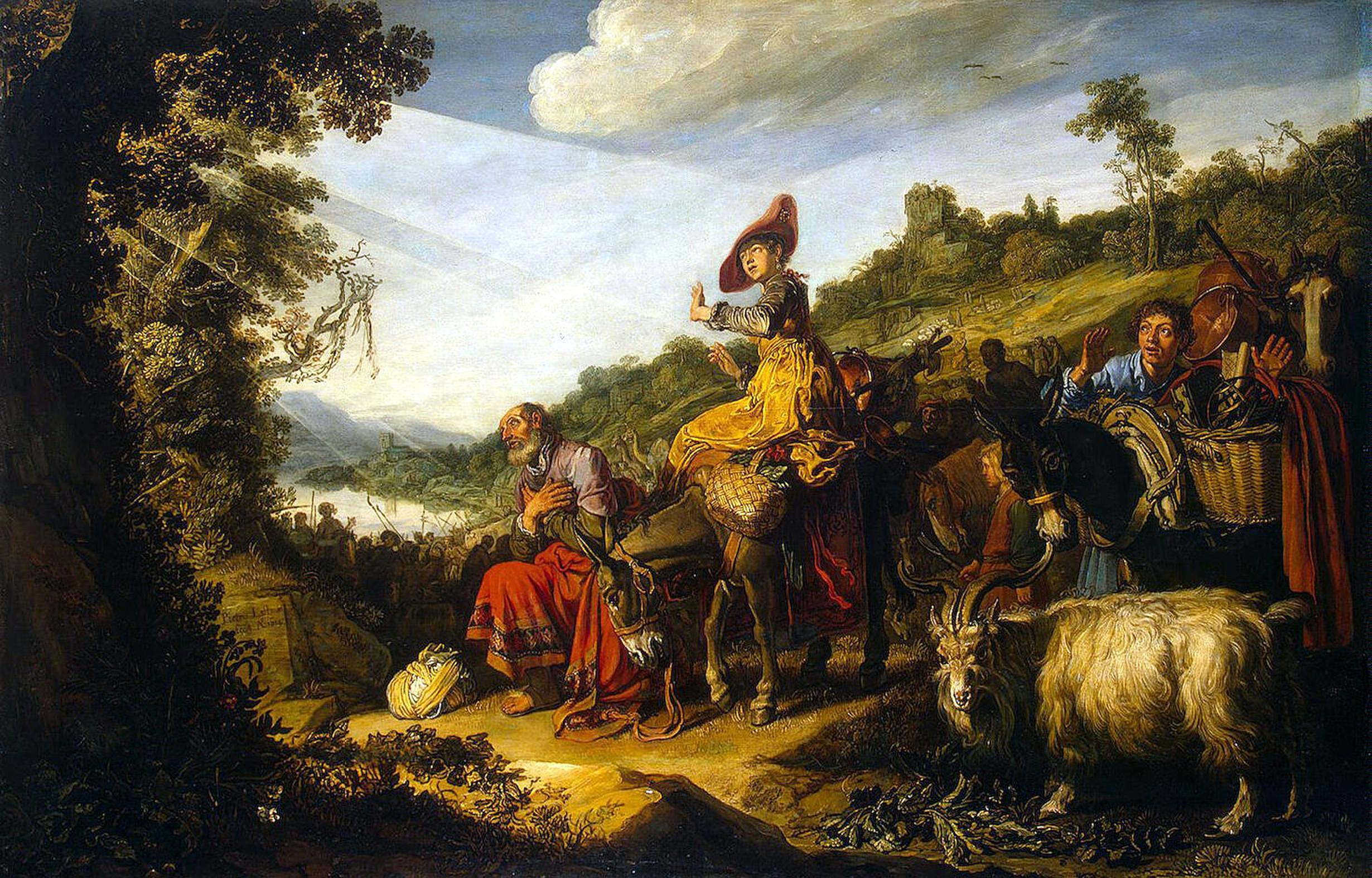 File:Lastman, Pieter - Abraham's Journey to Canaan - 1614.jpg