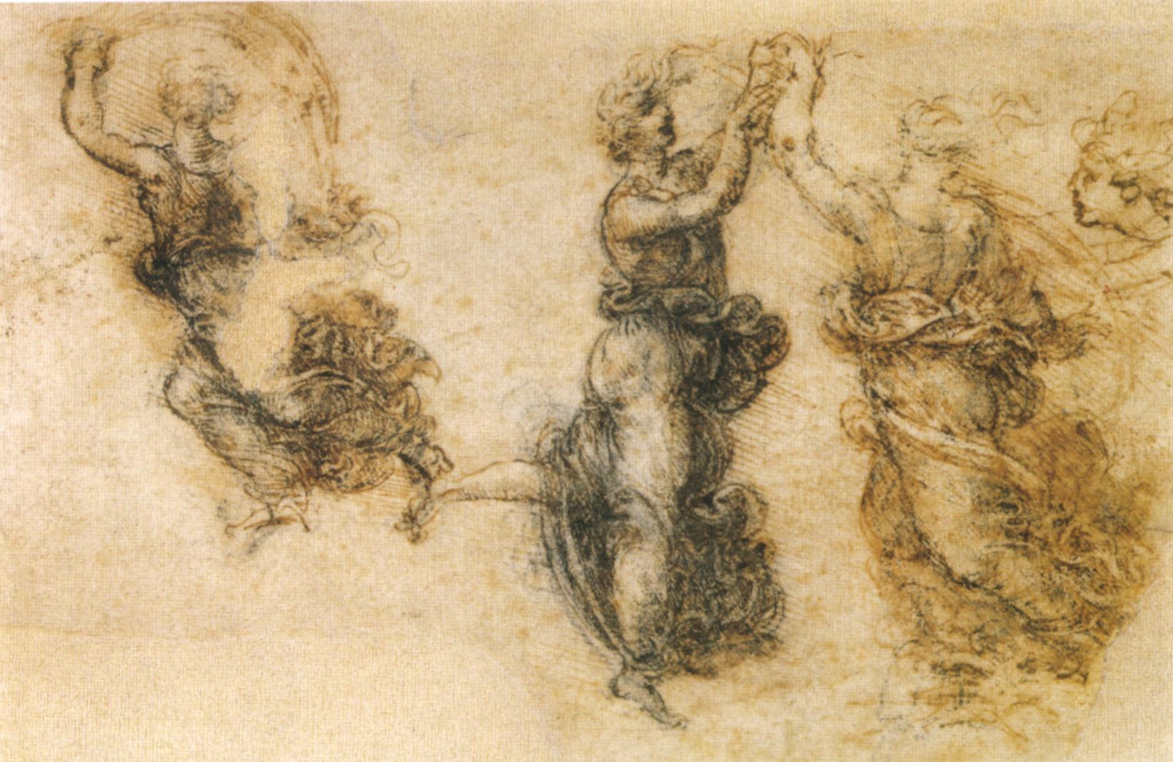 Файлleonardo da vinci studio di tre figure danzanti