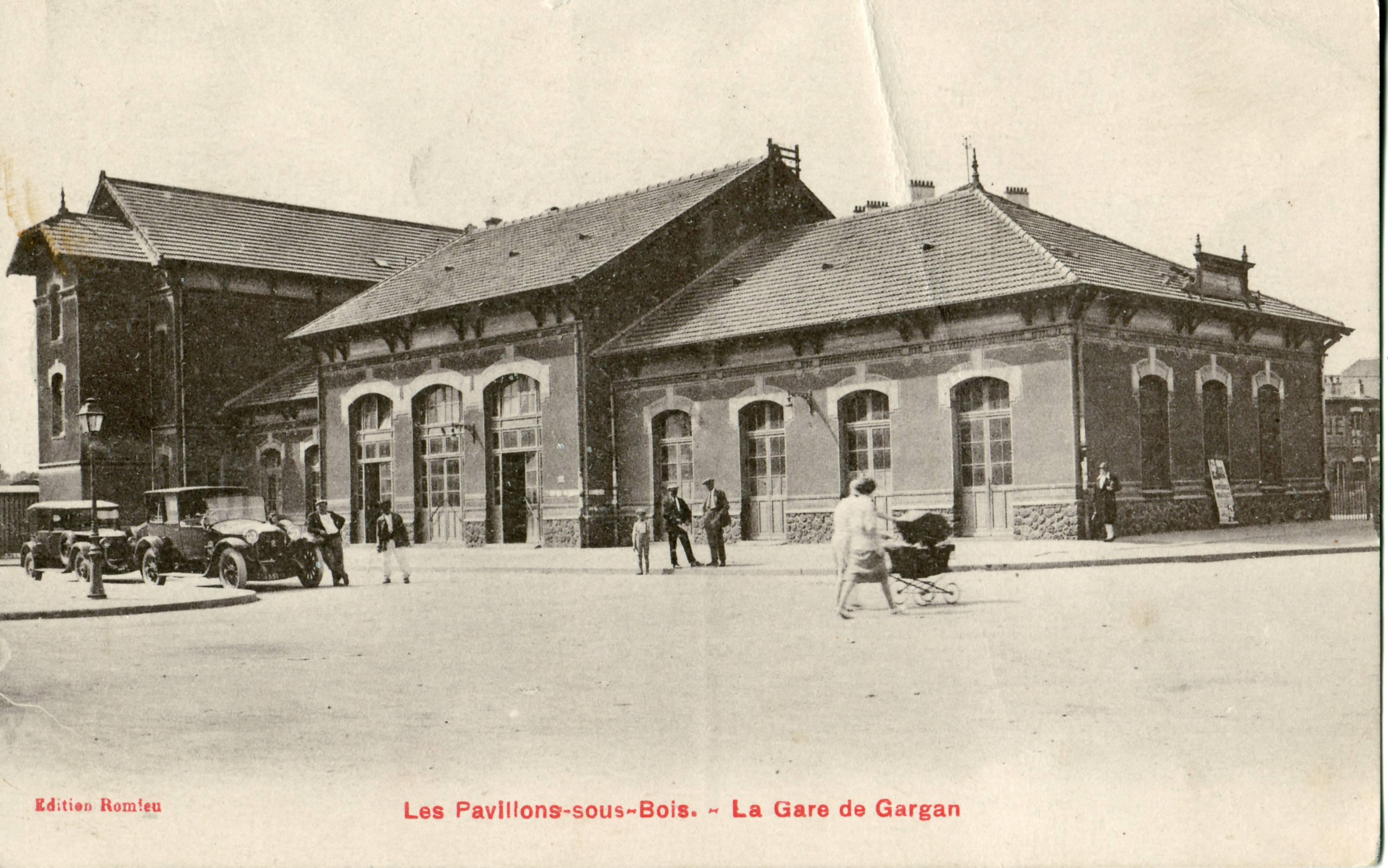 FileLes Pavillons sous Bois  La gare de GarganJPG